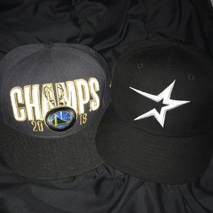 Snapbacks (Golden State & Astros)